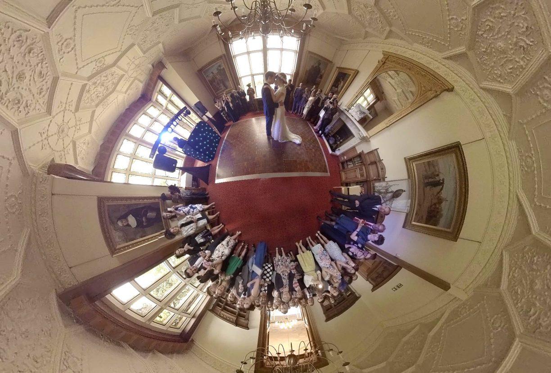 360 degree vr virtual reality wedding event videos UK VR wedding video